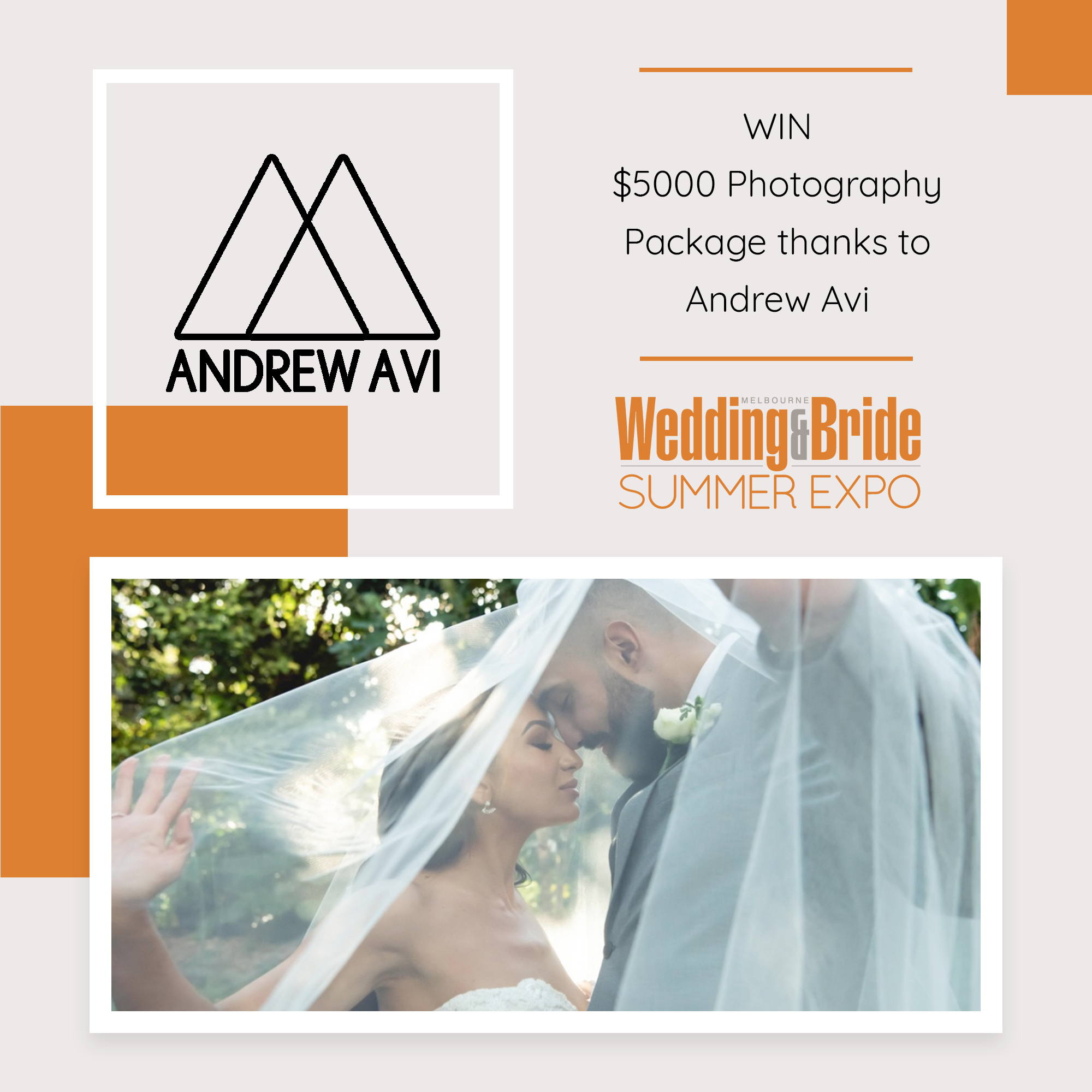 Perth Bridal Expo Competition Andrew Avi