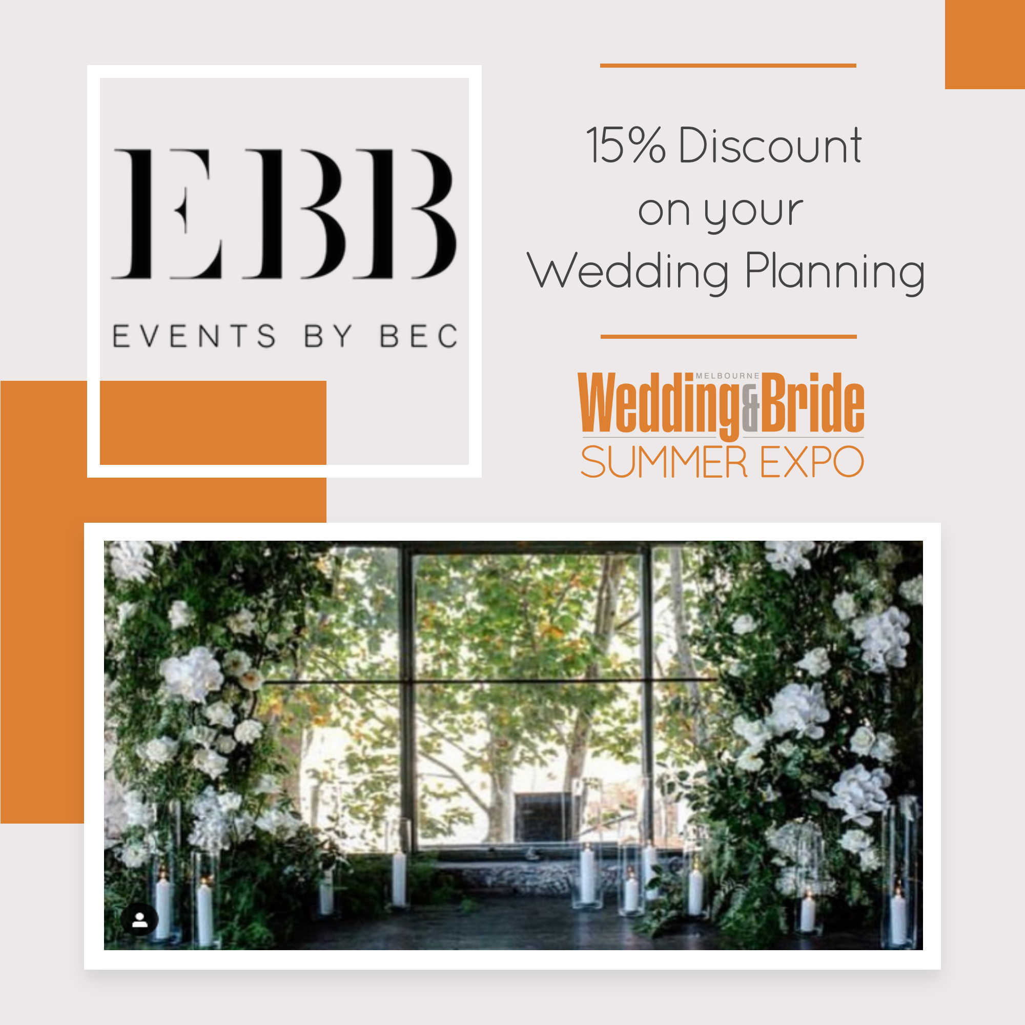 Events By Bec - Melbourne Bridal Expo